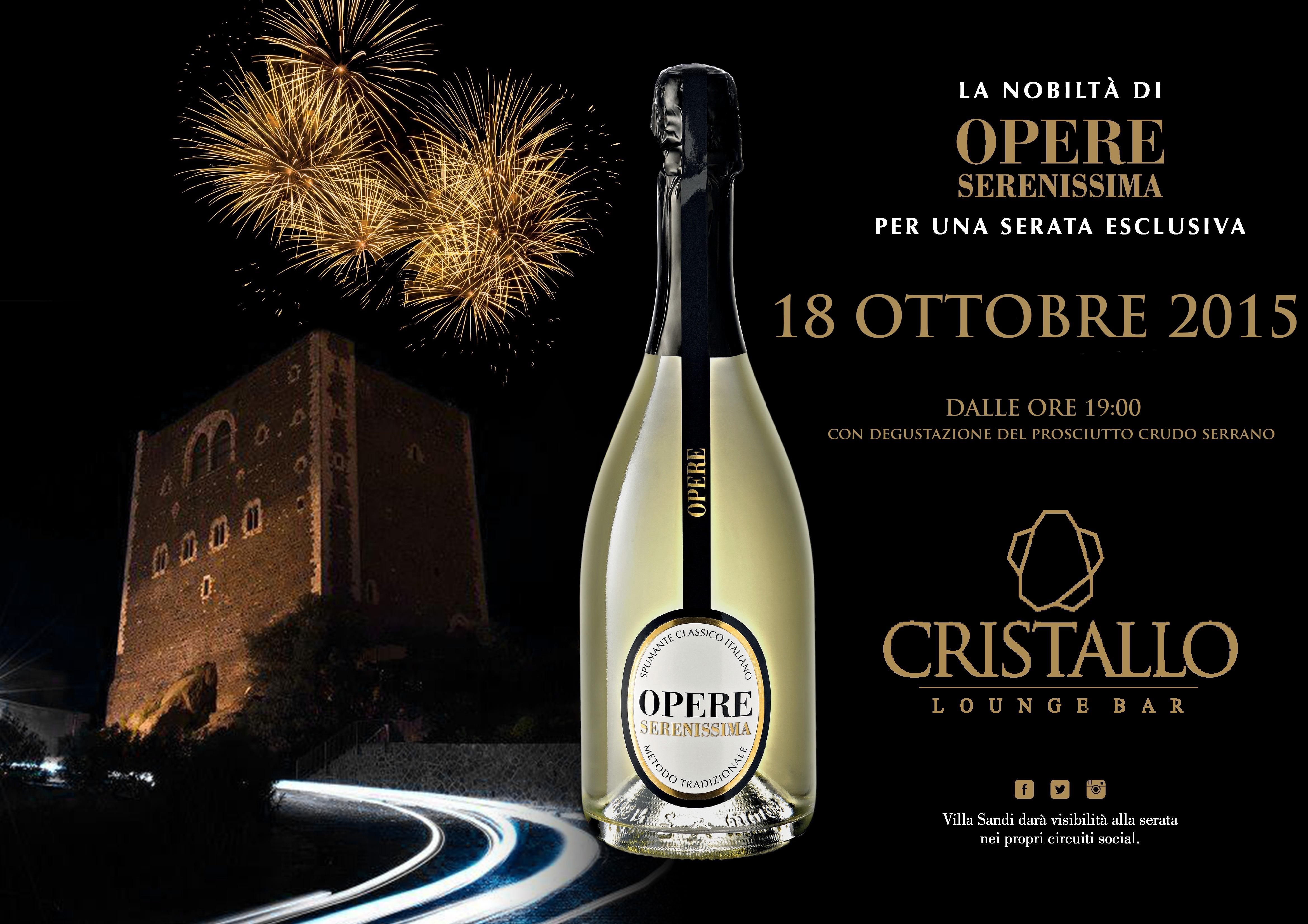 opere serenissima evento cristallo 18 OTTOBRE 2015